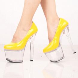 Customized Extreme Heel Patent Leather Pump High Heel 20cm High Heel 10cm Platform Women Pump Sexy Fetish High Heels Sexy Pump D0172