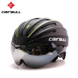 Wholesale Casco Ciclismo Hot Sale Rushed Latest Eps Bike Bicycle Helmet Short tail Time Trial Aero Track Cycling Helmet With Glasses