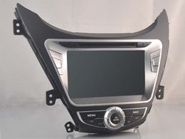Wholesale 8 Quad Core HD Screen Android Car DVD GPS Player for Hyundai Elantra Avante I35 bluetooth gps navi dvr Map