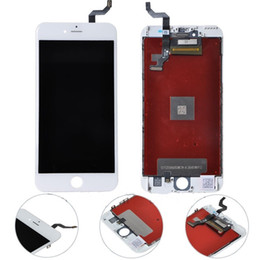 Wholesale for iPhone S inch LCD display touchscreen digitizer full Assembly with D touch iphone replacement screen white DHL