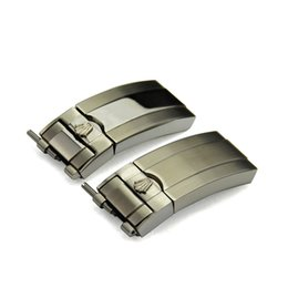 Wholesale 16mm x mm NEW High Quality Stainless steel Watch Bands strap Buckle Deployment Clasp FOR Rolex bands