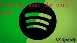 Wholesale 3 Months Spotify Premium Code Spotify e card USA