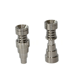 3 parts Adjustable Male& Female Domeless Titanium Nail 10&14 & 18 & 19 mm Grade 2