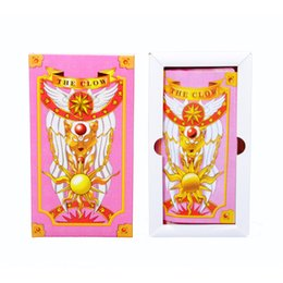 Wholesale Retail Cardcaptor Sakura Hope Card Captor Sakura Magic Cards Mahou Clow anime Cards Cosplay Playing Game Prop Cards