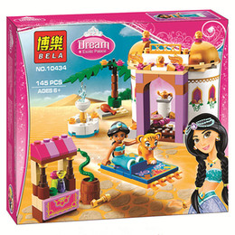 Wholesale Jasmine s Exotic Palace Rajah Aladdin Princess Series Building Block Minifigure Girls Toy Bela