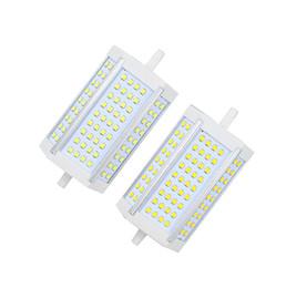 High power 30w dimmable R7S 30W 118mm SMD2835 72LED Light Bulb Lamp LED Spotlight Corn Light Bulb Lamp replace 300W halogen lamp AC85-265V