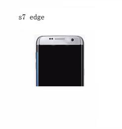 Wholesale 1 Goophone S7 edge curved screen Quad core MTK6580 real gb gb show fake gb gb unlocked mental phone