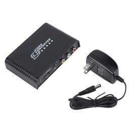 S audio vidéo hdmi en Ligne-2016 plus récent 1Pcs composite RCA CVBS AV audio S-Video R / L à l'adaptateur 1080p convertisseur HDMI Livraison gratuite