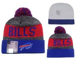Wholesale BUFFALO Football Beanies Team Hat Winte Rrugby Caps Popular Beanie Caps Skull Caps Best Quality Women Men Sports Caps