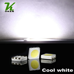1500PCS 16-19LM Cool White PLCC-6 5050 SMD 3-CHIPS LED Lamp Diodes Ultra Bright SMD 5050 SMD LED Free shipping