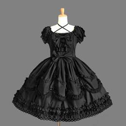 (LLT027) Lolita Dresses Short Sleeveless Sweet Lolita Short Dress Ball Gown Fancy Prom Dress Halloween Party Masquerade Costume