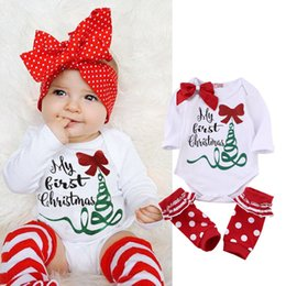 Wholesale 2016 christmas cute rompers Newborn Baby Boy Girl Bodysuit sisters family sets Romper cute lovely Jumpsuits Kids Outfits