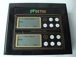 Wholesale 4pcs Fast Delivery DHL Fedex UPS EMS High Quality Ionic Cleaner Detox Machine Spa with EU AU UK USA Plug