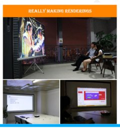 Wholesale New System Business K DLP Lumens Home Theater Projector Windows OS Full HD P Active shutter D WiFi Projector