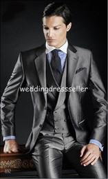 Free shipping men wedding suit mens tuxedo pants jacket vest Three piece Suit grooms mens suits wedding suits for men tie suit