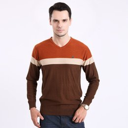Wholesale-New Mens V neck sweater and Yaxite color sweater, men's sweater knit sweater male man