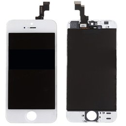 Top Quality For Apple iPhone 5S Replacement Repair Parts Full Assembly Front LCD Display Lens With Touch Screen Digitizer