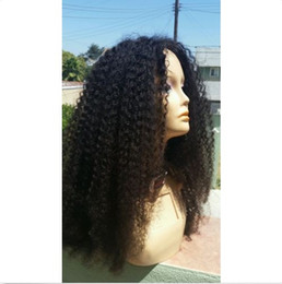 New arrival full lace indian hair wigs jerry curl natural hairline front lace wigs with baby hair
