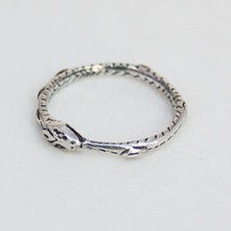 Vintage Ouroboros ring Charming ancient silver Handmade ring restoring ancient ways Silver antiqued plated free shipping