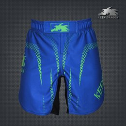 Wholesale Men s MMA Training Shorts KEEN DRAGON Martial Arts Boxing Trunks Gym Wear Fitness Shorts