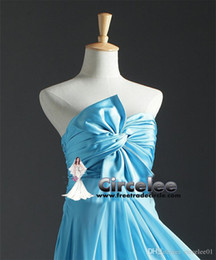 Wholesale 2016 New Arrival Chiffon Long baby blue Bridesmaid Dresses Sweetheart Bridesmaid prom Gown Custom Made