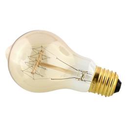 Wholesale Vintage Antique Edison A19 V W E27 Industrial Light Ceiling Bulb Lighting Reproduction Incandescent Home Decor