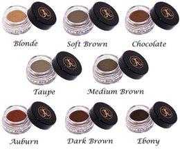 Wholesale make up Anastasia DIPBRO Pomade Medium Brown Waterproof Makeup eyebrow g Blonde Chocolate Dark Brown Ebony Auburn Medium Brown TALPE