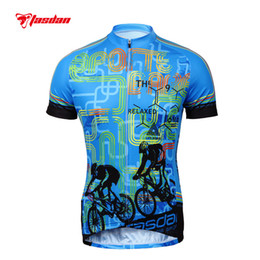 Wholesale Tasdan Fashion Cycling Jerseys Custom Cycling Apparel Sports Shirt Outdoor Mountain Bike Shorts Jerseys Road Bike Clothing