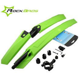 Wholesale ROCKBROS quot Bike Bicycle MTB Fender Mudguard Front amp Rear Quick Release
