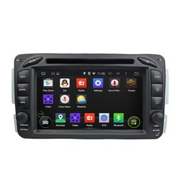2 Din Android DVD GPS Navigation for Benz W209 with Bluetooth 3G WIFI and Touch Screen