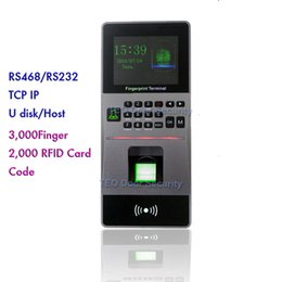 Wholesale High Speed Large Capacity RFID Biometric Fingerprint Access Control Time Attendance Software Security System for Door T A and AC System