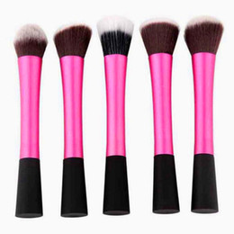 Mybasy 5PC Small waist makeup brushes soft set toiletry kit blending Foundation powder beauty maquiagem cosmetic Makeup tools
