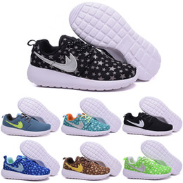 Wholesale Online Cheap Children s Running Shoes Athletic Shoes Boys Girls Roshe Run Kids Casual Boots Babys Sport Shoes Size C Y