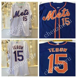 Wholesale Custom New York Mets tebow Jersey Alternate Blue men Jersey New York Mets women baseball Jersey