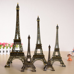 France Paris 3D Eiffel Tower Model Alloy Eiffel Tower desk table Office Wedding Home Decoration Special Gift for Friend