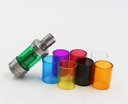 Single Packing Replacement Pyrex Glass Tube 7 Colors Kanger Toptank Mini Toptank Nano Subtank Mini Subtank Nano Protank 4 Subvod Mega