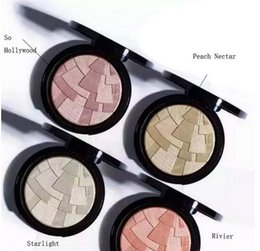 Wholesale New Makeup Ana Anastasia ILLUMINATOR Professional Face Pressed Powder Colors g oz So Hollywood Riviera Peach Nectar DHL