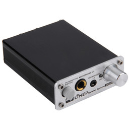 Wholesale Professional HIFI Microphone Amplifier Dual Channel Audio Stereo Amplificador Computer MP3 PC Microphone MIC Power Amplifier