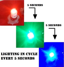 10 pcs  lot hight brightness DC12V LED RGB red green blue lighting in cycle every 5 seconds for buttons