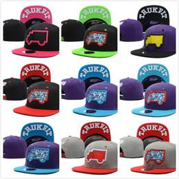 2017 sombreros de camuflaje 2106 nueva llegada Trukfit camuflaje sombreros del Snapback de los sombreros del Snapback Snapbacks broche de presión sombrero respalda camionero casquillos negros descuento sombreros de camuflaje