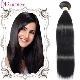 Wholesale 7A Brazilian Straight Human Hair Weaves Bundles Unprocessed Virginn Hair Bundle Deals inch Brazilian Virginn Human hair Weave Bundles