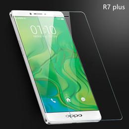 2017 oppo chinois Oppo R7 plus Protecteur d'écran en verre trempé transparent 2.5D Protecteur d'écran à bordure ronde pour les marques chinoises pour Iphone pour Samsung galaxie - YH0145 promotion oppo chinois