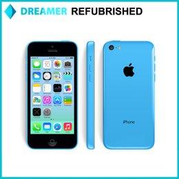 Wholesale Refurbished Original Apple iPhone C iOS8 G FDD LTE inch Retina Screen Dual Core A6 CPU MP Camera Nano Sim Card