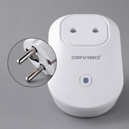 Wholesale-Orvibo S20 EU,US,UK,AU Power Socket WiFi Smart Switch Travel Plug Socket Home Automation app for iPhone Android Smartphone
