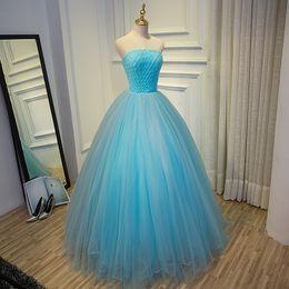 100%real light blue plain braid ball gown long dress Medieval dress Renaissance gown royal dress Victoria dress