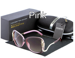 6 styles Women Elegant Sunglasses brand Mercury coated anti reflection Aluminum magnesium alloy frame outdoor Anti-Glare Fashion glasses A50