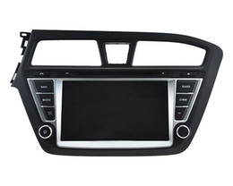 For 2015 Hyundai i20 Right Left hand drive 8 inch 2 din car audio radio gps car dvd player with 1024*600 capcitive touch screen