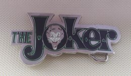 The Joker Black Color Belt Buckle SW-N02suitable for 4cm wideth belt with continous stock free shipping