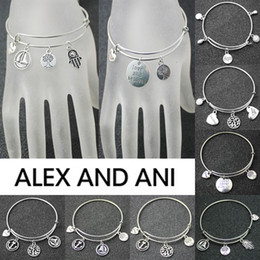 Wholesale Alex and Ani Bangles Bracelets For Women Fashion Jewelry HOT Selling Expandable Adjustable Charms DIY Bracelet