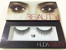 Wholesale hot sale pair Huda Beauty False Eyelashes Eyelash Extensions handmade Fake Lashes Voluminous Fake Eyelashes For Eye Lashes Makeup
